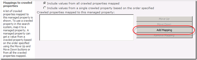 Add Mapping to Managed Metadata Property