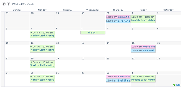 SharePoint Calendar Overlay with a Library and Other List