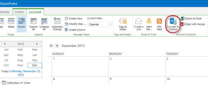 SharePoint Connect to Outlook: Work with List and Library Items in Outlook
