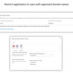8. Domain Restriction