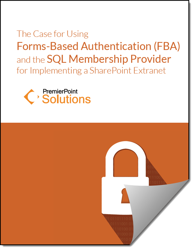 SharePoint Forms-Based Authentication Whitepaper